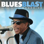 James Armstrong on the cover of Blues Blast Magazine