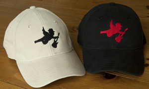 New! Guitar Angles logo baseball hats